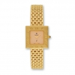 Ladies Kremena Gold-plated Biege Dial Swiss Quartz Watch