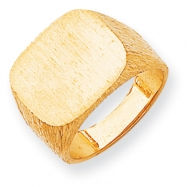 14k Men's Signet Ring